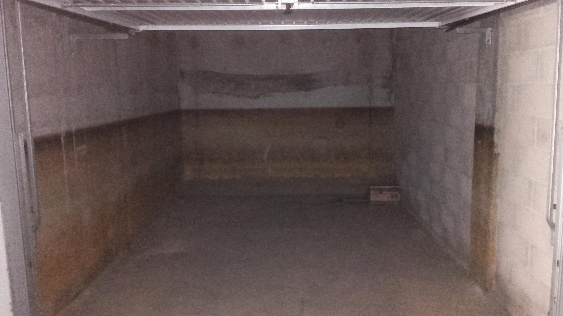 Garage en sous sol